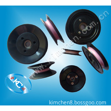 Cable Pulley Wheels Plastic Flanged Ceramic Pulley