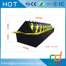 Automatic vehicle remote control traffic rising blocker
