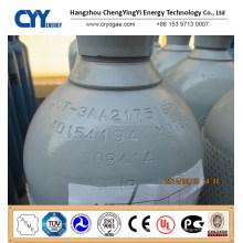 50L Oxygène Nitrogène Lar CNG Acétylène CO2 Hydrogeen CNG 150bar / 200bar Cylindre à gaz en acier sans soudure