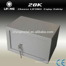 Simple de pie armario seguro de acero para uso personal