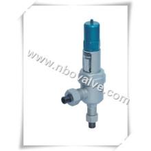 Válvula de segurança do tipo baixa elevação carregada por mola fechada (A61Y)
