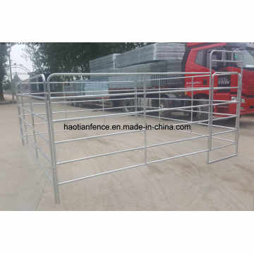 Heavy Duty 12 Foot by 6 Foot High Подержанная лошадь Corral Panel