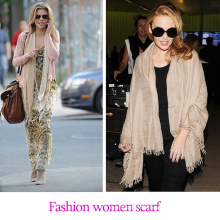 Factory price 90*200cm 10 colors ladies shawls scarf, can be MUSLIM HIJAB, cotton&polyester scarf