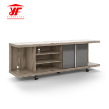 Newest Modern MDF TV Stand Movable With Wheels