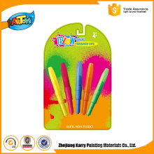 Com qualidade warrantee 3 Cores Art Kids Artista Define blow pen magic blow pen