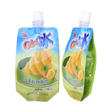 customer biodegradable stand up foil packaging pouches for liquid