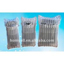 PE plastic transparent air bag for toner cartridge