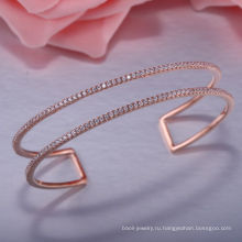 Нежный 925 серебро красивые браслеты