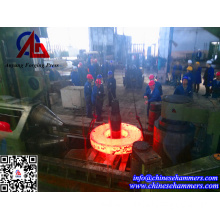 Flange Forging By Ring Rolling Machine