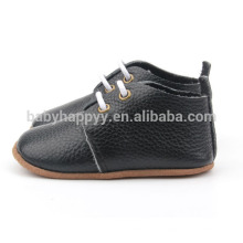 Sapatos de couro de sola de couro de qualidade quente sapatos de couro puro para bebês Venda por atacado