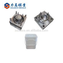 Molde plástico plástico del cubo de la inyección del molde del cubo de la fábrica del proveedor de China directamente