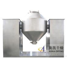 Secador de vácuo giratório de cone duplo