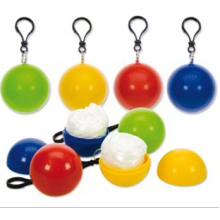 Emergency Disposable poncho with ball