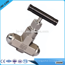 Hydraulic carbon steel straight needle valve