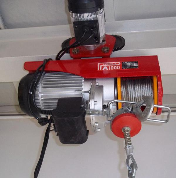 pa500 mini electric hoist winch
