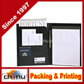 Deluxe Black Writers Padfolio with Inside Pocket Organizer (440039)