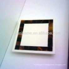 Canosa collection de salle de bain en coquillage MOP mosaïque porte-serviettes en coquillage