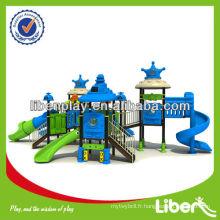 2014 Enfant nouveau terrain de jeu extérieur, espace style, aire de jeux commerciale commerciale standard EN à vendre LE.SY.011