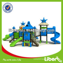 2014 Kids New Outdoor Playground, Space style, EN standard commercial outdoor playground for sale LE.SY.011