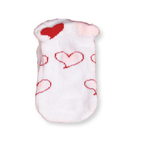 Heart Design Baby Socks Big Cuff Socks