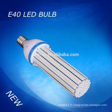 IP44 60W E40 COB LED éclairage de rue de maïs intérieur et extérieur