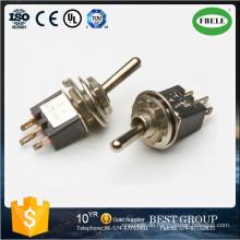 on-on Spdt 3p Sub-Miniatur-Kippschalter, Mini-Schalter Kleiner Kippschalter, Wippschalter