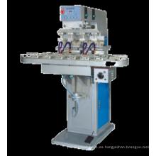 Máquina de impresión sellada de la taza Tampo Máquina de impresión de la impresora de la tapa 4-color Tampography