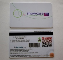 0.80mm Wide Narrow Magnetic Stripe Card (Cr80 low-co/high-co)