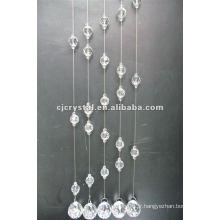 2015 vente chaude rideau en cristal décoratif pour porte