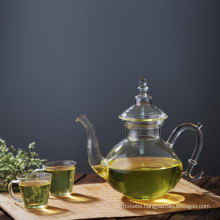 Moroccan Turkish Middle East Glass Serving Teapot