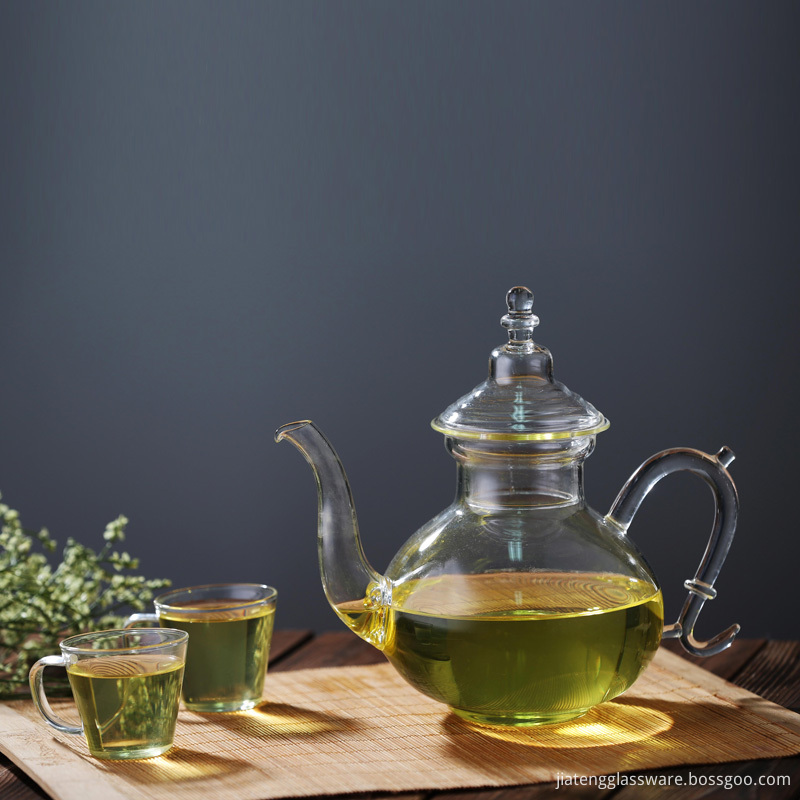 Glass Teapot with Heat Resistant