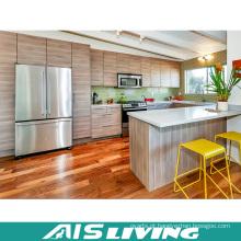 Mobília de gabinete de cozinha de porta de folheado estilo africano (AIS-K173)