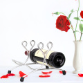 Kreativer Weinhalter Weinregal aus Edelstahl