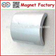 N40 big arc shape powerful neo motor magnet
