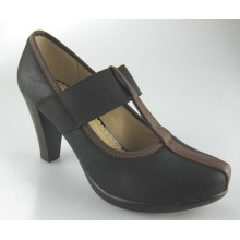 New Style MID High Heel Patch Women Office Shoes