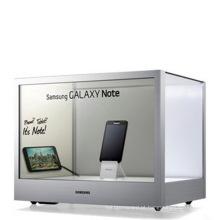 Única versão de 10,4-84 polegadas - exposição transparente do LCD para anunciar