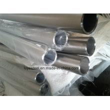 Tubulação de aço inoxidável S32205 / S31803 do tubo redondo de aço frente e verso