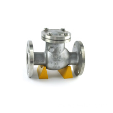 wafer swing stainless steel disc check valve pn40