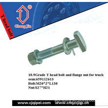 T Bolt and Flange Nut for Truck