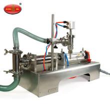 Petite machine de remplissage liquide à tête simple ou multiple