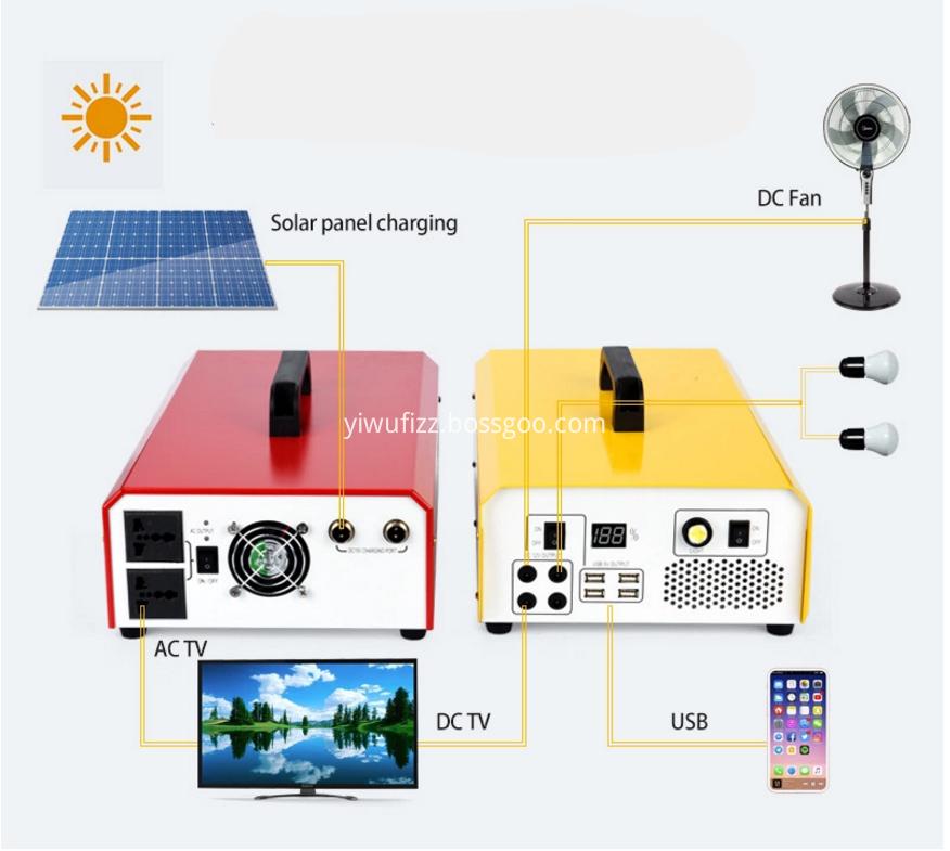 Solar Outdoor Power Generation System