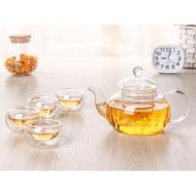 Copo de chá de vidro de borosilicato alto