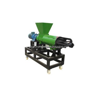 máquina de desidratação de esterco de vaca para aves domésticas Separador sólido-líquido