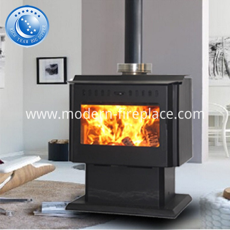 Steel Plate Wood Burning Fireplace China Popular