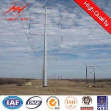 Pólo da transmissão de poder da tubulação de aço de 110 quilovolts (torre linear)