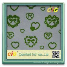 Mode nouvelle conception assez molle étoffes de bonneterie-coton tissu style