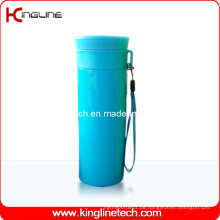 600ml Plastic Double Layer Cup Lanyard (KL-5020)