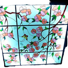 Great quality tempered insulated stained glass for building