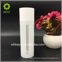 150ml PP cosmetic pump bottle airless pump bottle visible bottle