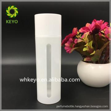 150ml PP cosmetic pump bottle airless pump bottle visible bottle